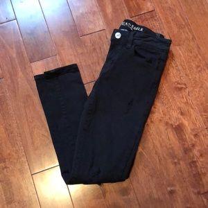American Eagle Black Jegging Jeans 🖤